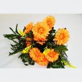 Хризантема с папоротником 18г 50см