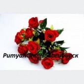 Букет Роза бархатная 12г 30см