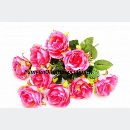 Букет Роза открытая 9 г 45 см