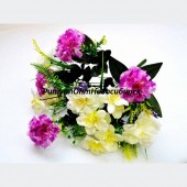 Букет Гвоздика, Георгин, Орхидея 12 г 40 см