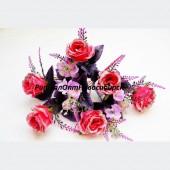 Букет Роза с блестками 11 гр 50 см