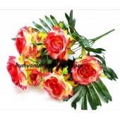 Роза с серебром 7 г 60 см