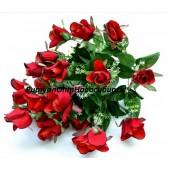 Роза бархатная 24 г 50 см