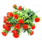 Роза с пластиком 24 г 60 см