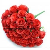 Роза бутон 36 г 40 см
