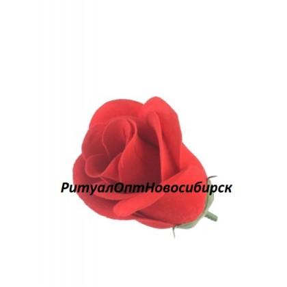 Бутон Розы бархат 10 см