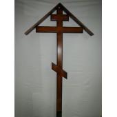 Крест простой с домиком