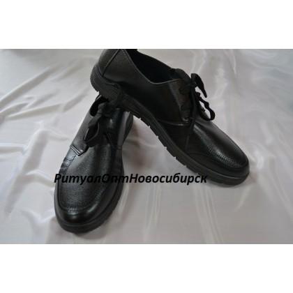 Туфли мужские на шнурках