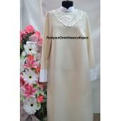 Платье воротник кружево