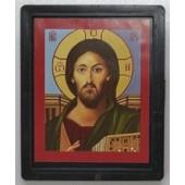 Икона в рамке мужской лик
