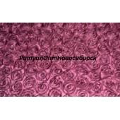 Атлас с нашивными розами