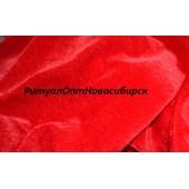 Бархат стрейч 5мп/кг Красный